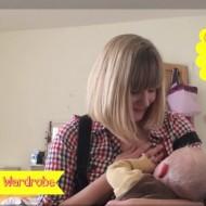 Vlogged: My breastfeeding wardrobe – outfit ideas for breastfeeding mums